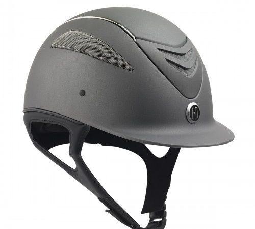 470152 Ovation One K Chrome Stripe Helmet