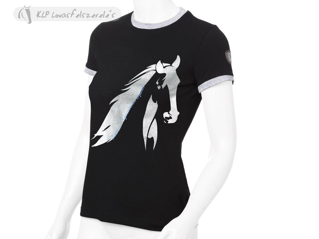 9069e15011 Tattini Ladies Short Sleeved T-Shirt – Equestrian Diva Couture