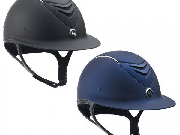 Onek  Deffender helmet Avance wide brim Chrome stripe