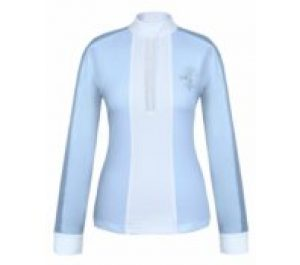 fair play competition claire pearl long sleeve blue