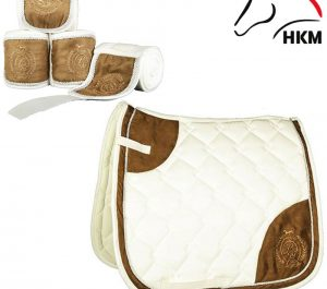 hkm saddle cloth champagne