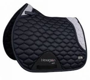 fairplay saddle pad hexagon mesh