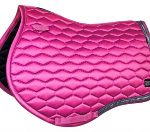 fairplay saddle pad hexagon Arrow fuschia vss