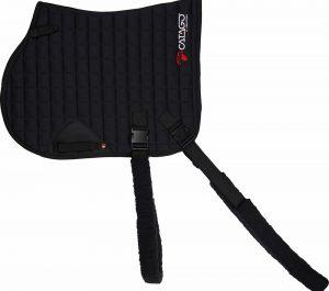 Catago fir tech training saddle pad elastic black jumping